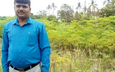 तुलसी आंवला कि खेती ने बढ़ाया संस्था का हौसला